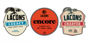 Lacons Ales available on tap at the Last Pub Standing
